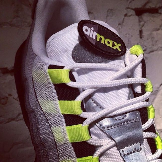 """Nike Air Max 95 Patch """"Neon"""" (Teaser)"""