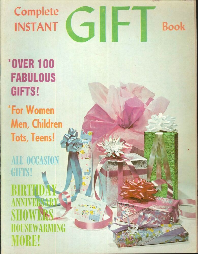 Complete Instant Gift Book 1971 Birthday Wedding Baby Anniversary Christmas Affilink