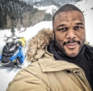 """Tyler Perry Announces New Self-Titled Talk Show- http://getmybuzzup.com/wp-content/uploads/2014/02/257373-thumb.jpg- http://getmybuzzup.com/tyler-perry-announces-new-self-titled-talk-show/- By Tank617 (Gossip-Grind News) Tyler Perry Announces New Self-Titled Talk Show: Tyler Perry revealed some very big news via Instagram yesterday. """"Look what I'm working on,"""" he shared along with a photo of himself on the set of """"Tyler, The Tyler Perry Show."""" It's not kno"""