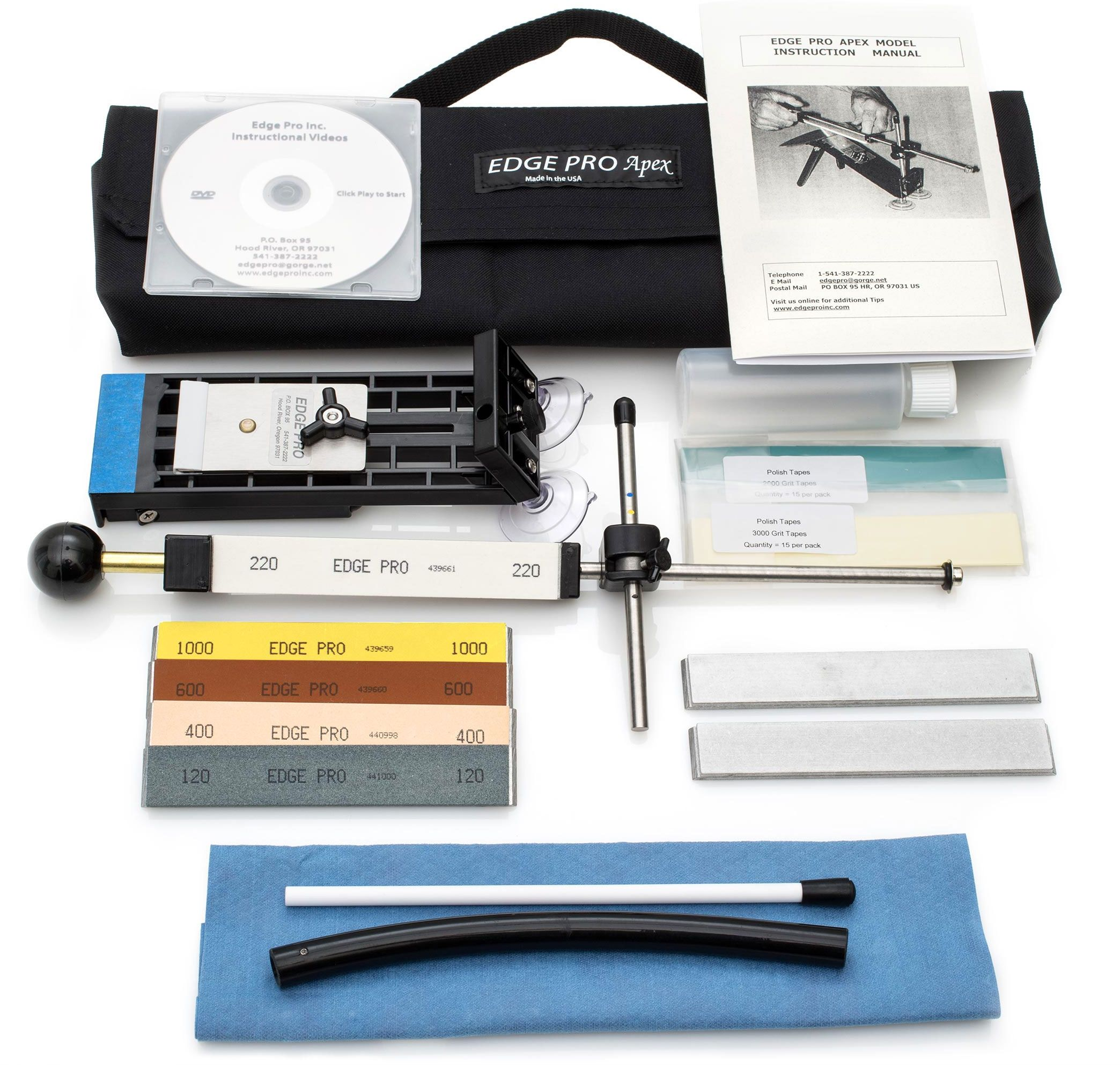 Edge pro apex 4 knife sharpening system knife sharpening