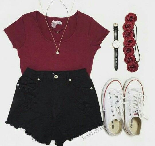 841fb7c168ea Causal teen outfits for summer | Summer style | Outfits, Outfit ...