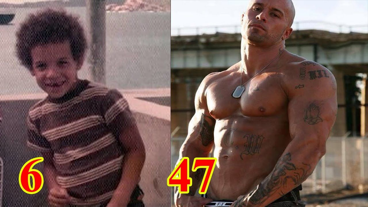 Vin diesel s childhood unseen rare vin diesel from 2 to 49 years