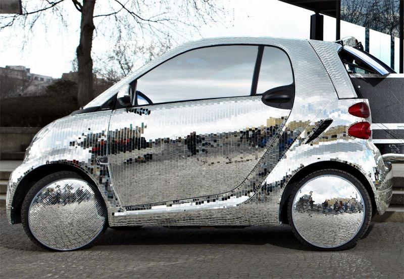 2011 smart disco ball car smart car futuristic cars