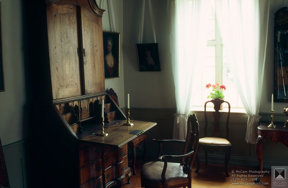 Norwegian Interiors interior of historic home, norwegian folk museum | historic