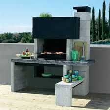 Barbecue fixes recherche google jardin pinterest for Brasero de jardin castorama