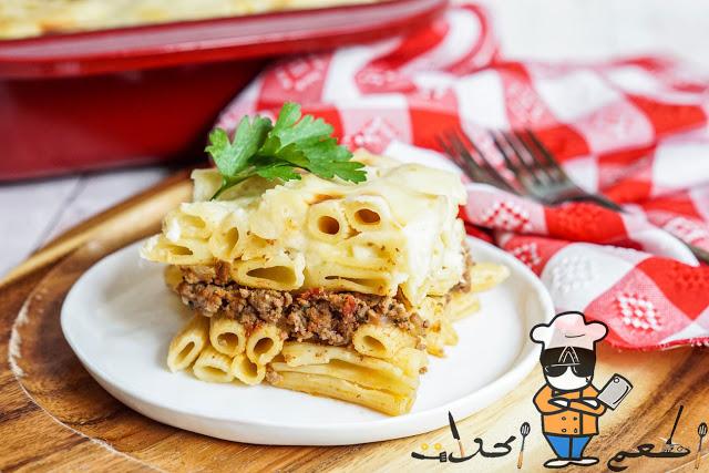 طريقة عمل المكرونة بالبشاميل في 5 خطوات سهلة جدا Food Breakfast Waffles
