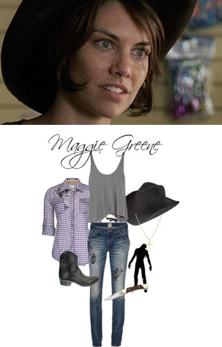 Inspired Outfit - Maggie Greene from The Walking Dead- great - walking dead halloween costume ideas