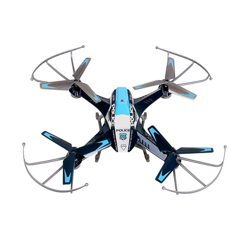 Premium Future Police Remote Control Drone Rc Quadcopter W Hd Camera 2 4ghz 4channel W Gyroscope 360 Degree Flips Mul Remote Control Drone Quadcopter Toy Plane