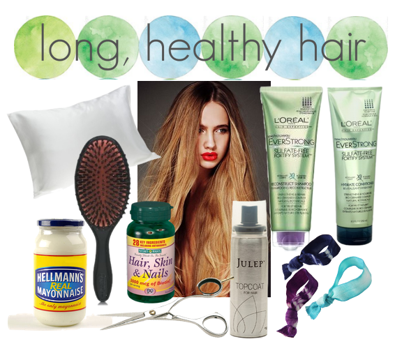 What makes your hair grow longer?