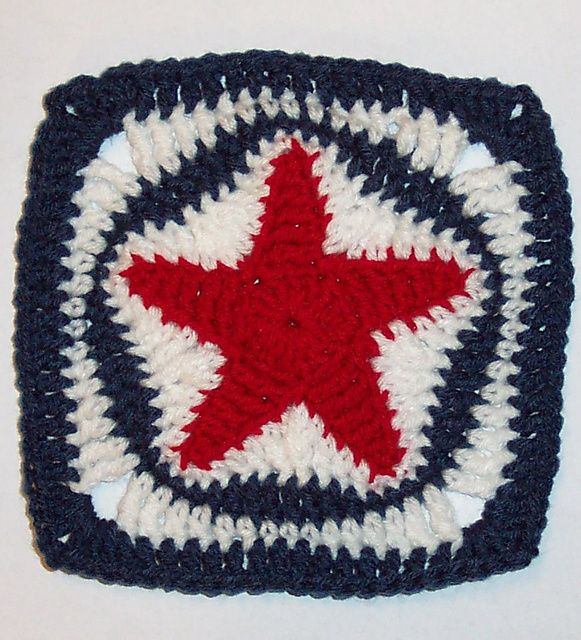Star Square Pattern By Donna Mason Svara Squares Star And Granny
