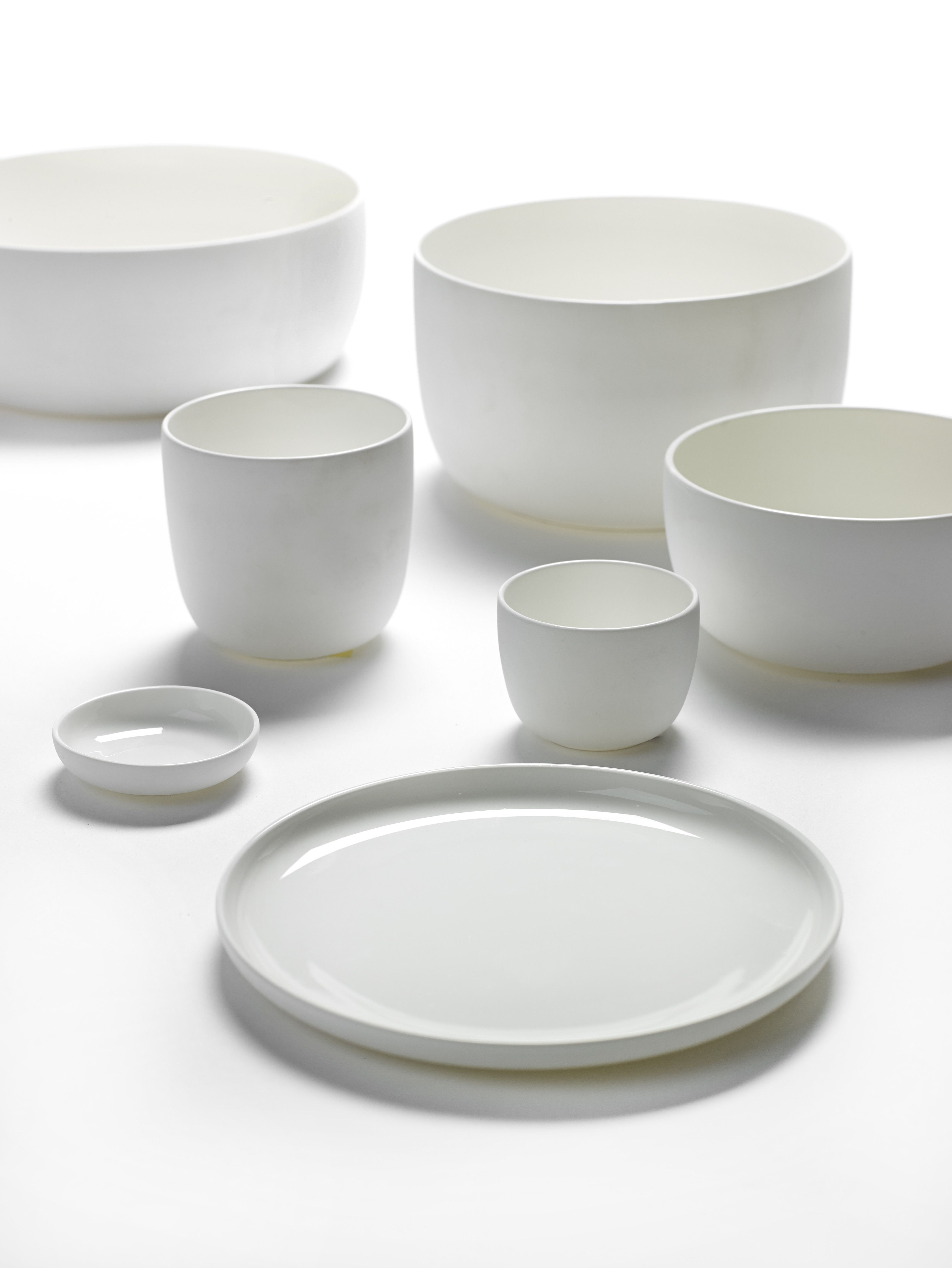 piet boon white tableware from piet boon by serax. Black Bedroom Furniture Sets. Home Design Ideas