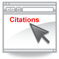 introduce in text citations when they should be used and general