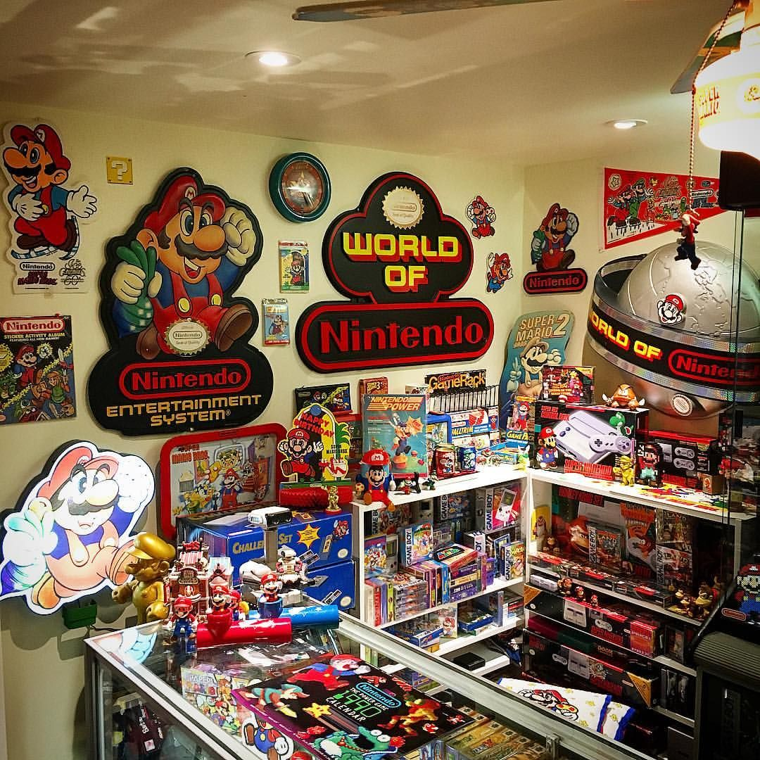 Pin by Augustine Porter on Garage Video game rooms, Nerd