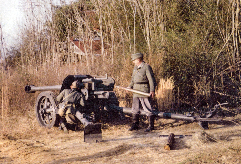 German 50 Mm Anti Tank Gun: Pak-40 (75mm): With An Effective Range Of 7,678 Metres