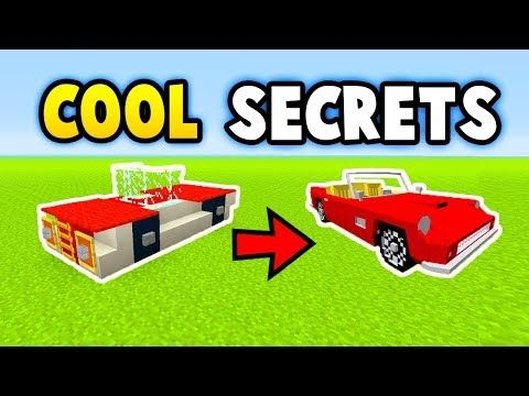 Minecraft 5 Crazy Secret Things You Can Make Ps3 Xbox360 Ps4
