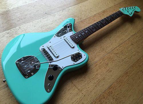 Fender Japan Jaguar In Sea Foam Green In 2019 Fender