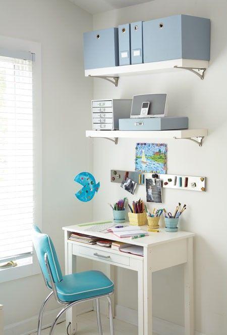 Organizing School Supplies U0026 Study Spaces. Kids Desk SpaceSmall ...
