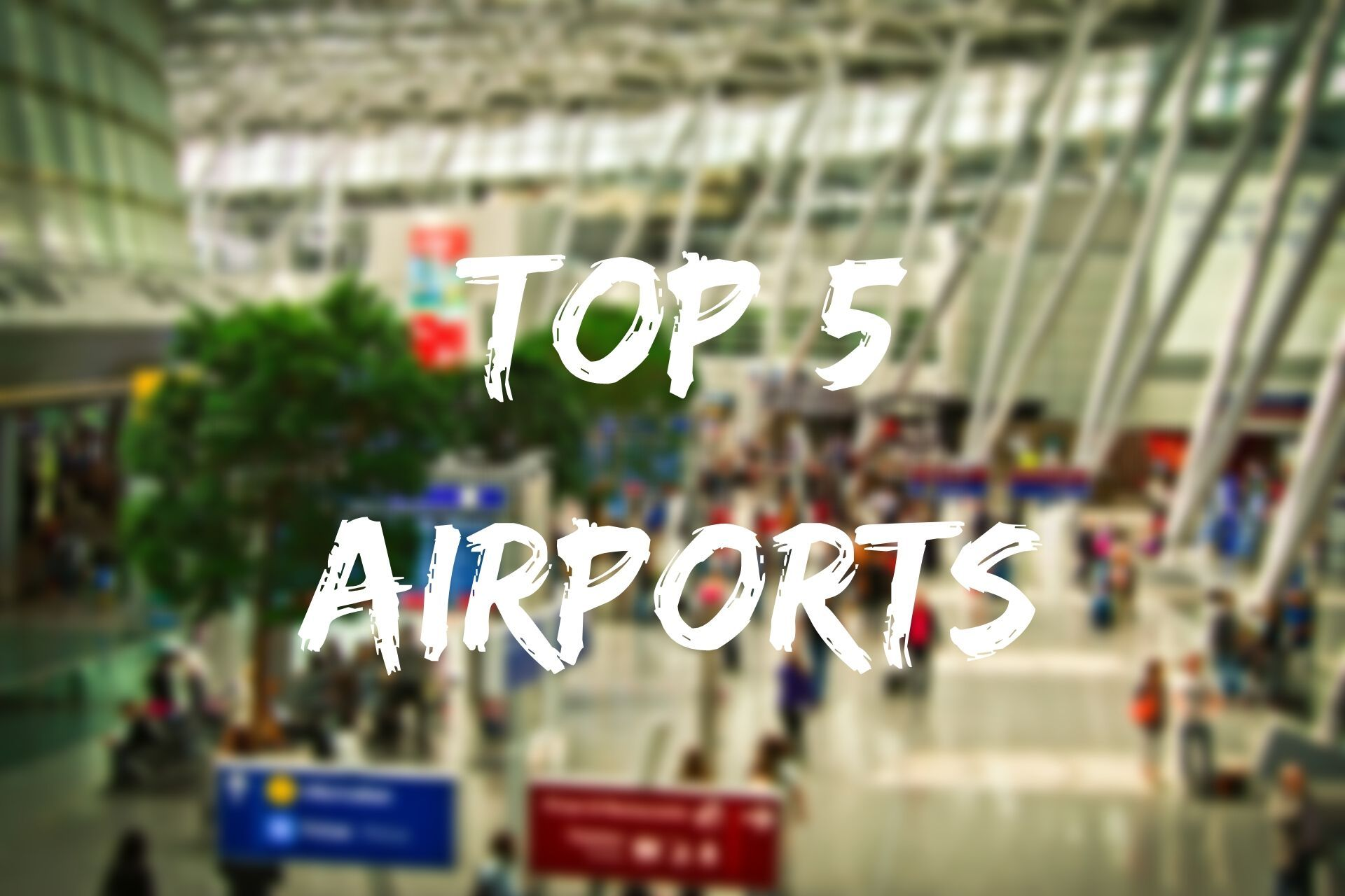 Read about 5 best airports in the world on our blog