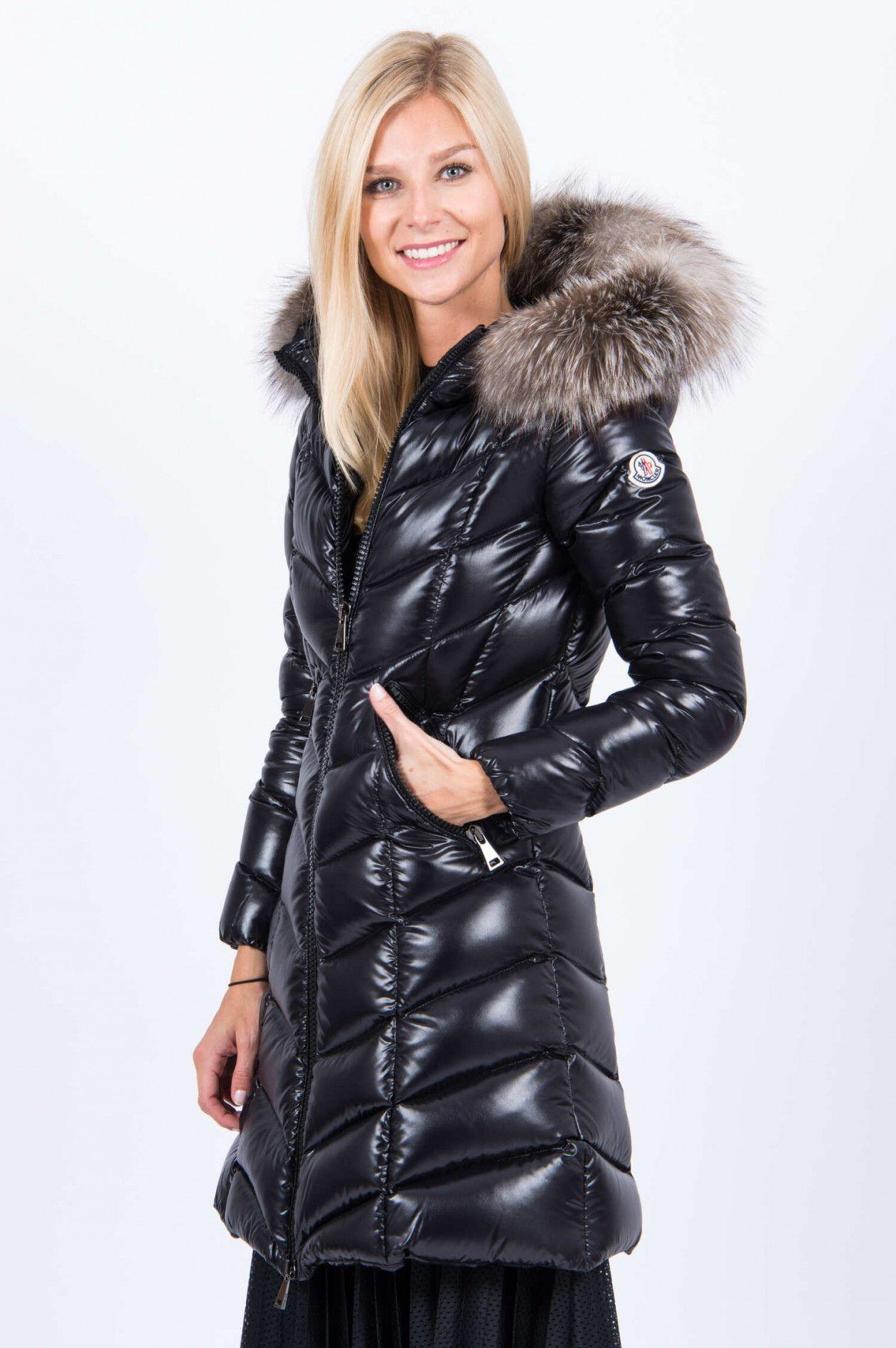 Winterjacke Kurzmantel Damen Steppmantel kurz schwarz Wintermantel Wet Look