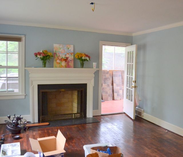 Living Room Colors Benjamin Moore another benjamin moore blue - yarmouth. possible living room