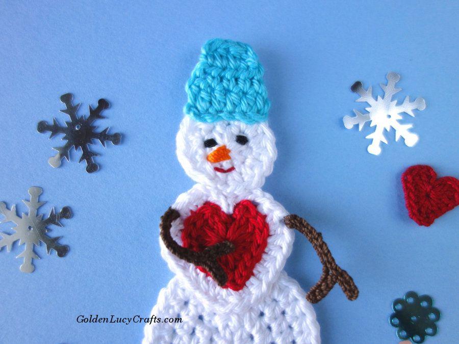 Crochet Snowman Free Crochet Pattern Christmas Crochet Patterns Crochet Snowman Easy Crochet Patterns Free