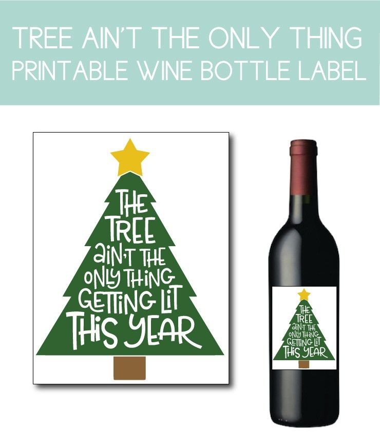 25 Christmas Instant Downloads You Need For The Holiday Season Book Themed Party Printable Wine Bottle Labels Holiday Graphics