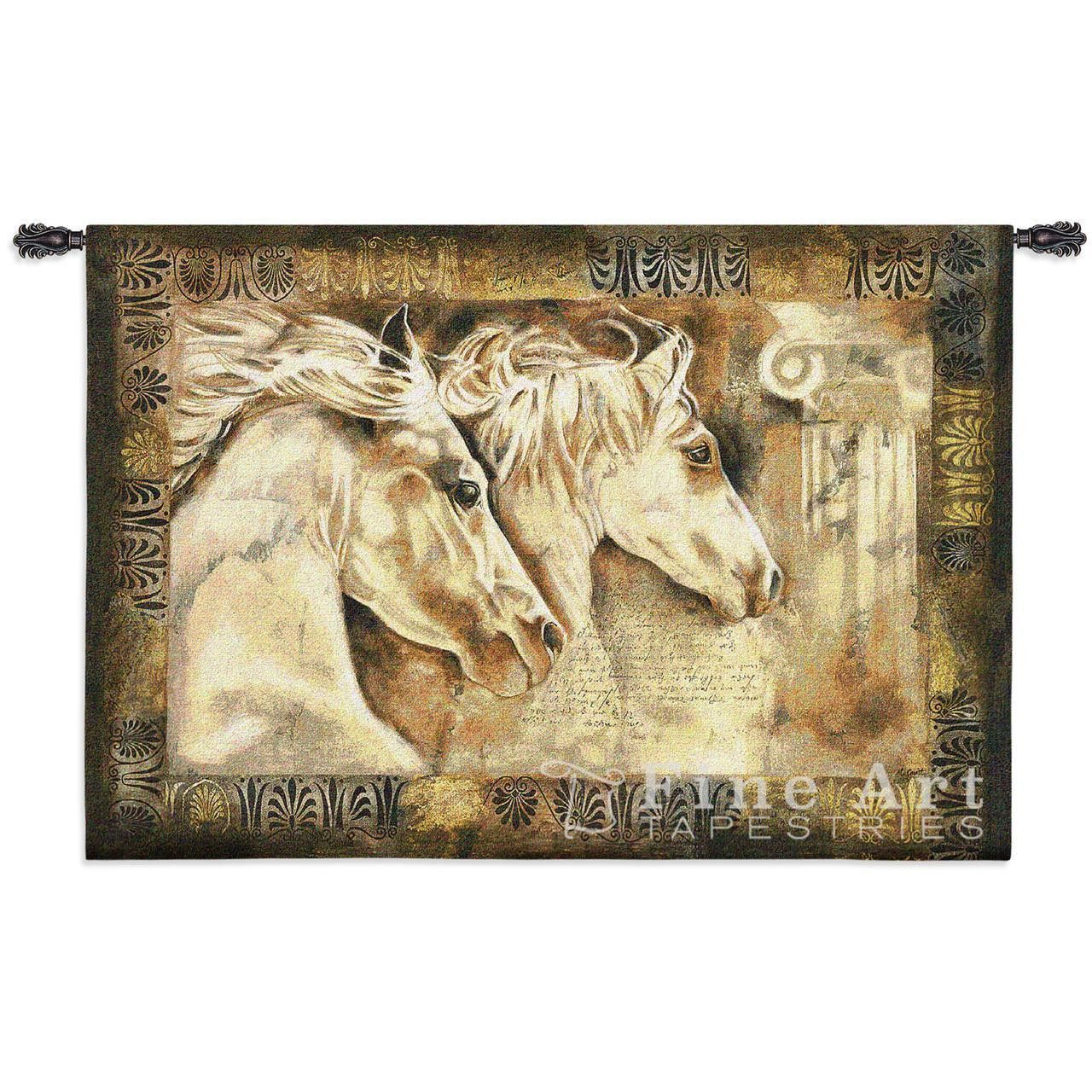 Messengers Of Spirit Equestrian Wall Tapestry   Products, Horses and ...