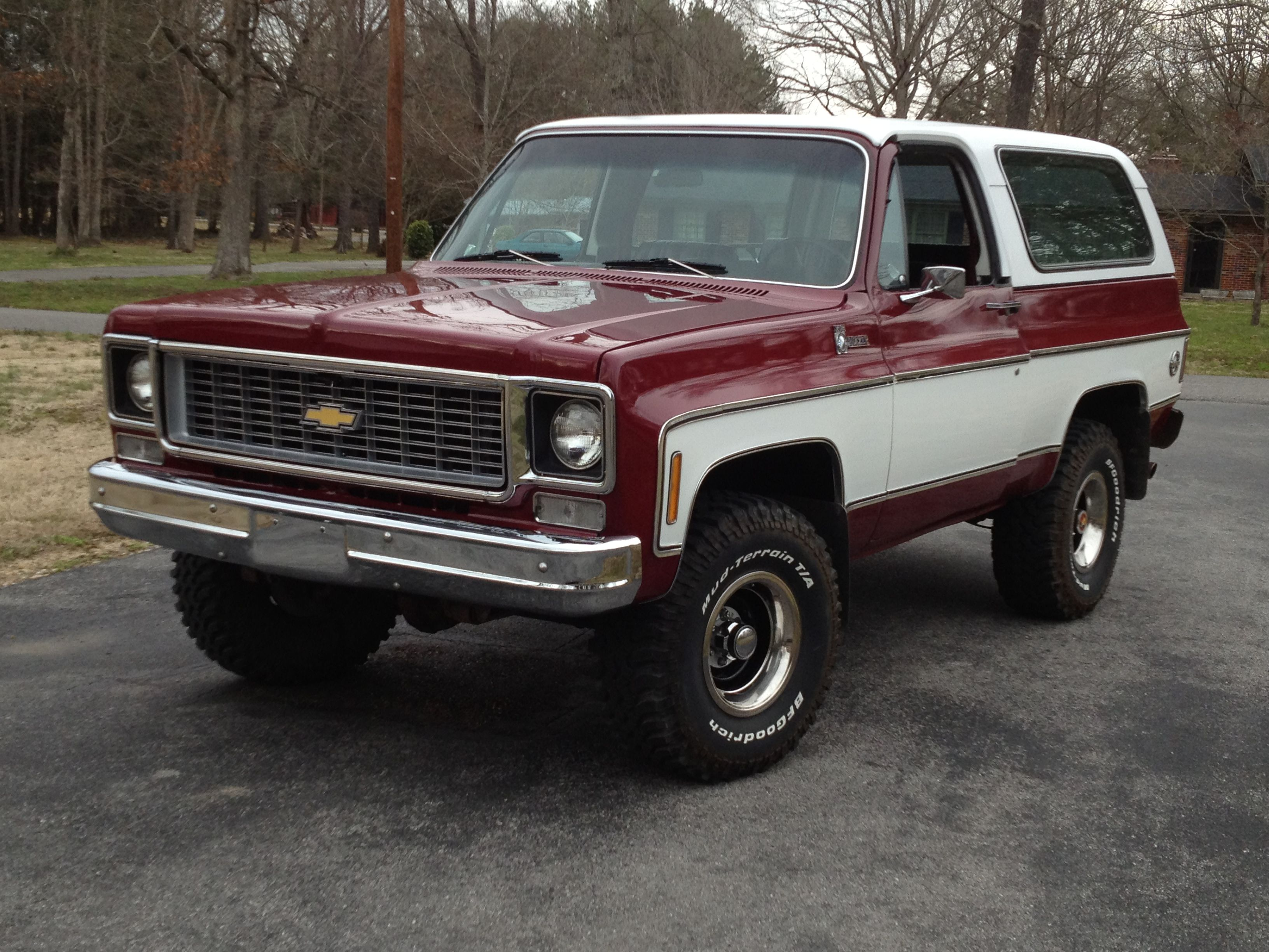 1975 Chevy Blazer (with a 73-74 grille) | Blazers, Broncos, Vans ...