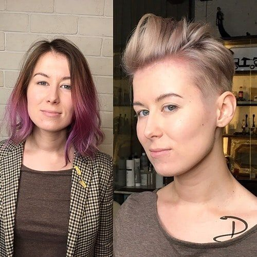 60 modelli di capelli molto corti e lisci per le donne ...