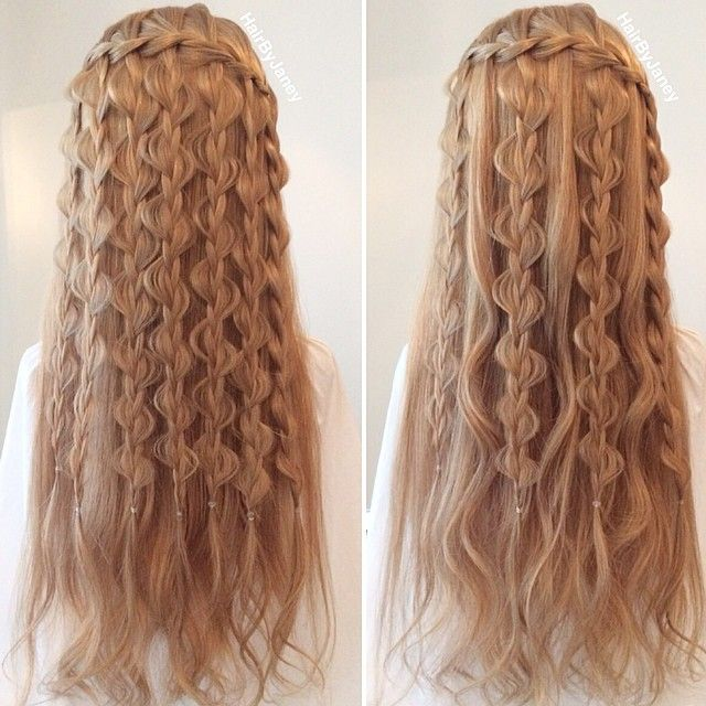 GORGEOUS hair! Amazing wow!!! I want to do this to my hair ...