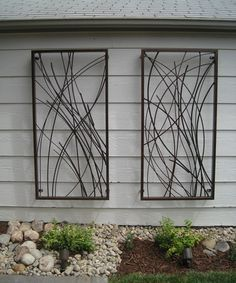 outdoor front of house wall art google search outdoor wall art pinterest metal wall art metal walls and wall art