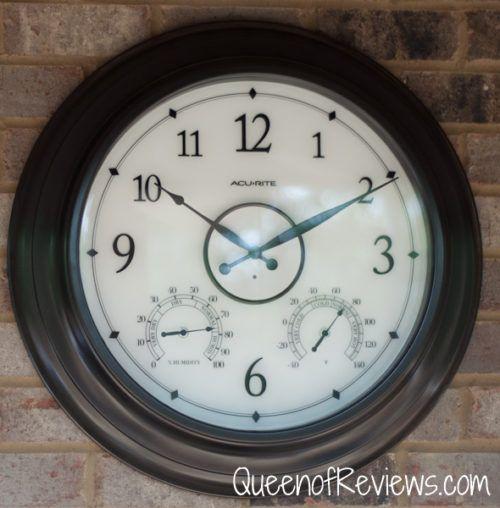 Pin On Clocks 24 inch outdoor clock