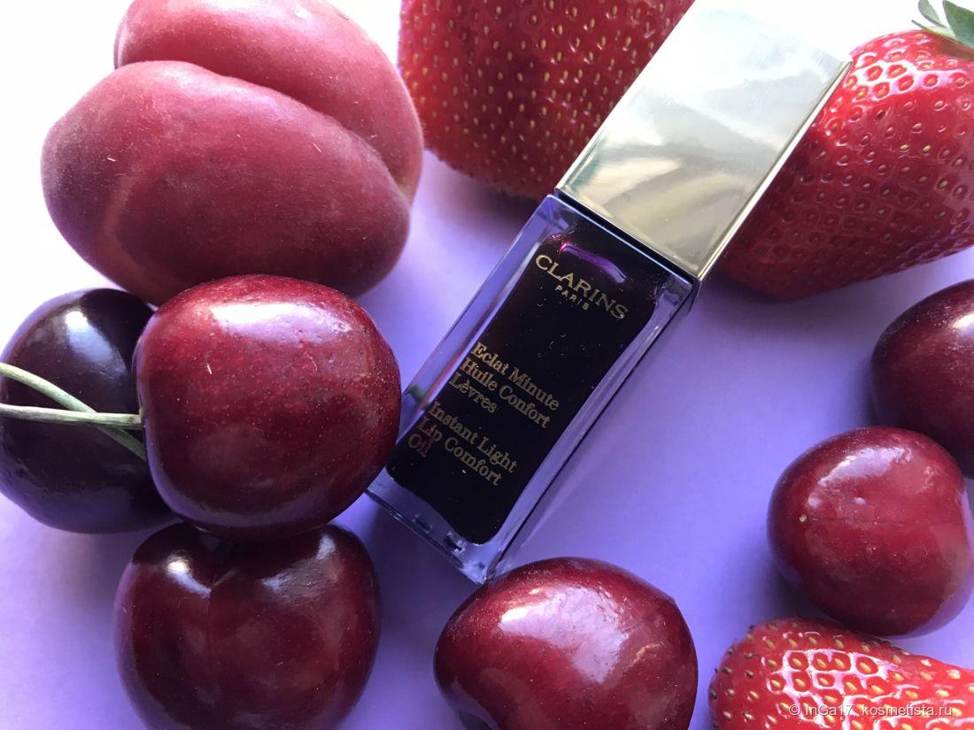 Масло-блеск для губ Clarins Eclat Minute 08 Blackberry в ...