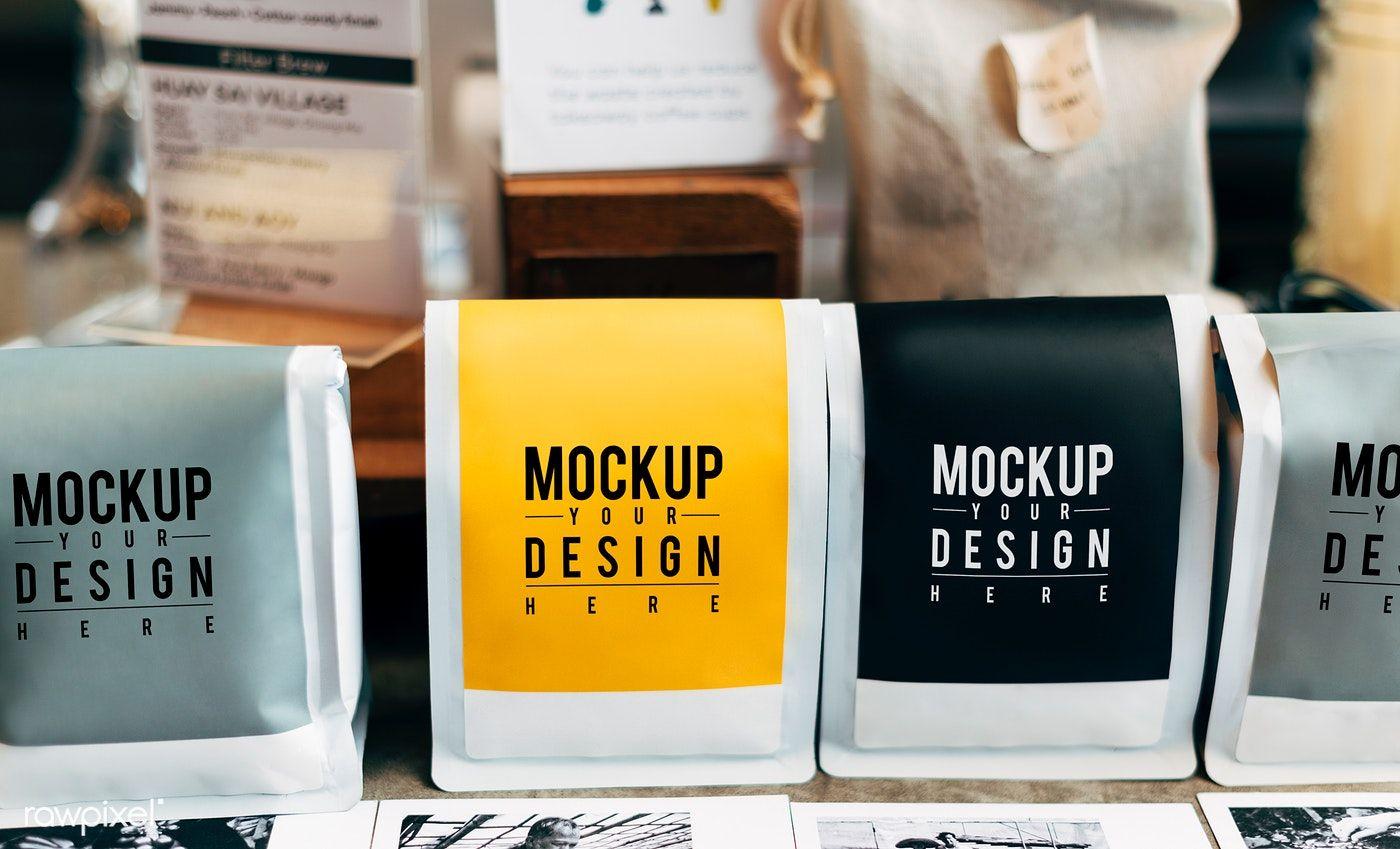 Mockup Of Coffee Bean Packaging Free Image By Rawpixel Com Coffee Bean Bags Coffee Beans Coffee Packaging