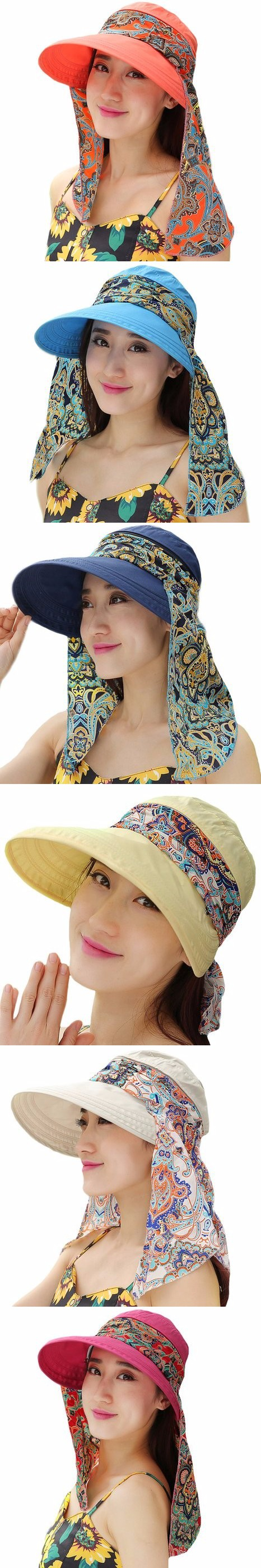 fb1a73bba36 2016 Summer Style Women Foldable Wide Large Brim Floppy Beach Gorro Hats  Chapeu Outdoors Visors Cap Sun Collapsible Anti-Uv Hat  8.5