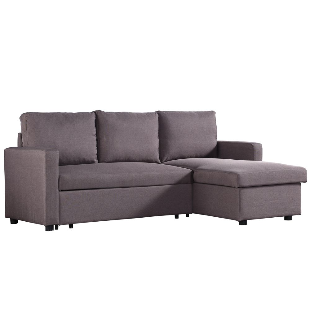 Seater Corner Storage Futon Sofa Bed