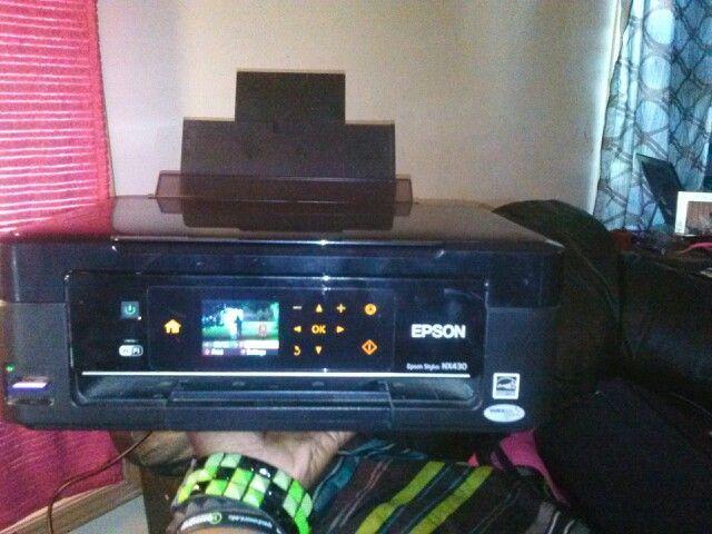 My new Epson photo printer yay!