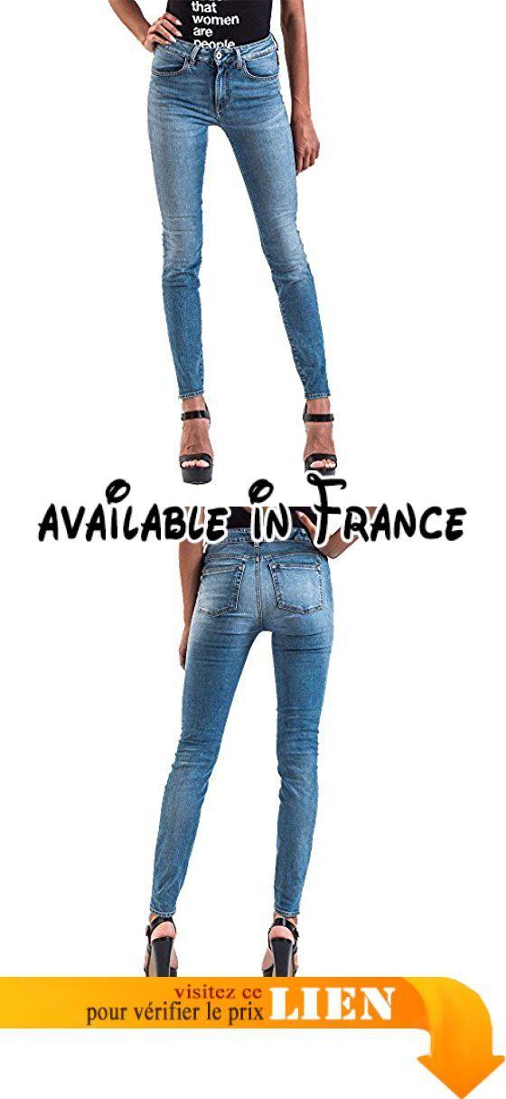 B071RG9BQ3 : Meltin'Pot - Jeans MIREA D0133-UK471 pour femme style ergonomique push up taille haute - taille W39/L30 (Taille fabricant:29).