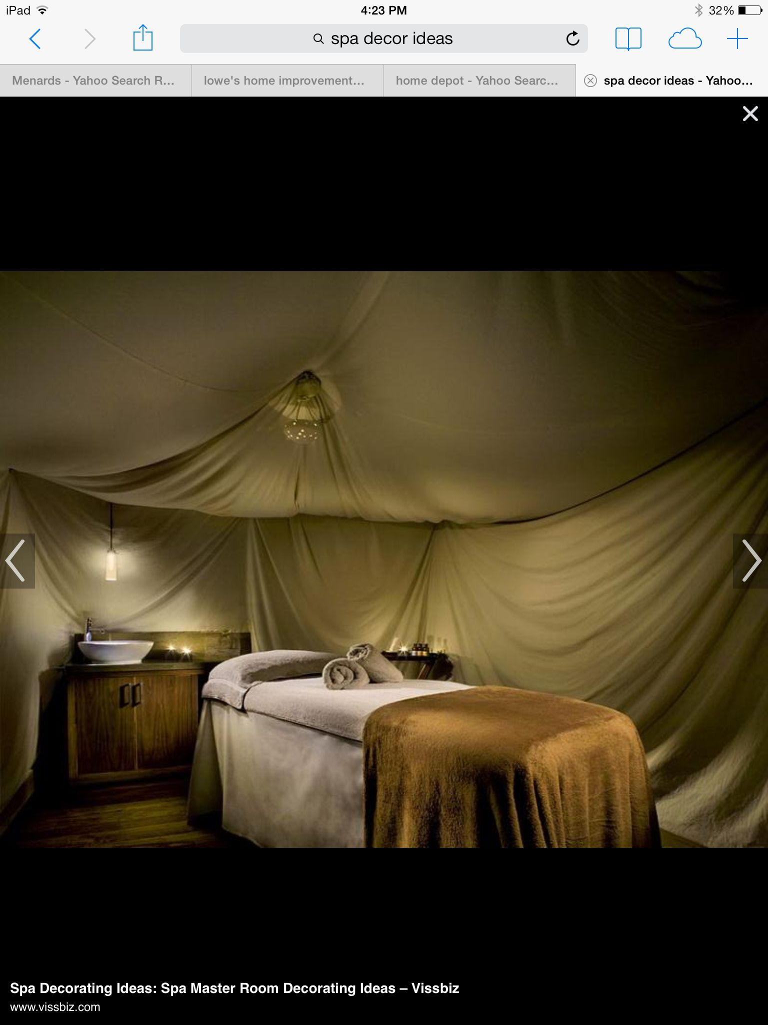 Massage Therapy Room Design Ideas Part - 40: Spa Chamber Luxury Small Spa Room Designing Ideas Mixed With Extra Large  Canopy For Narrow Bed Plus Wooden Cabinets Pleasing Spa Chamber Design  Inspiration