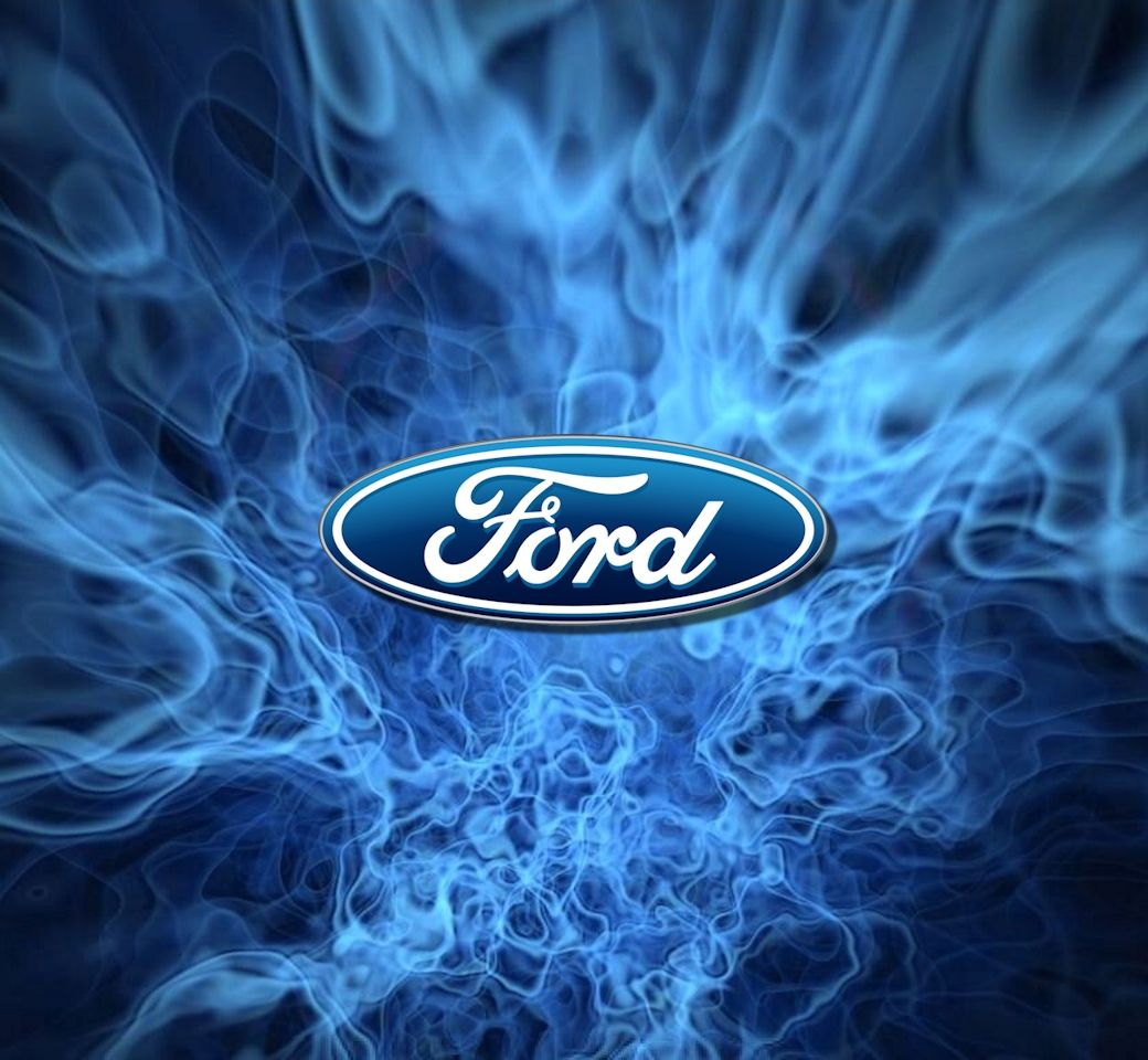 Ford Mustang Iphone Wallpaper: ... With The Ford Oval Logo And 1 With