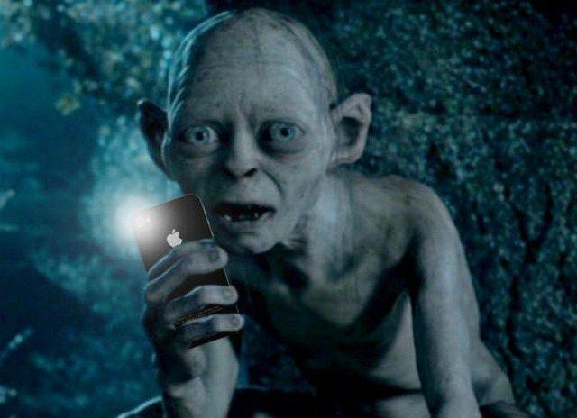 L'ipotetico Selfie di Gollum