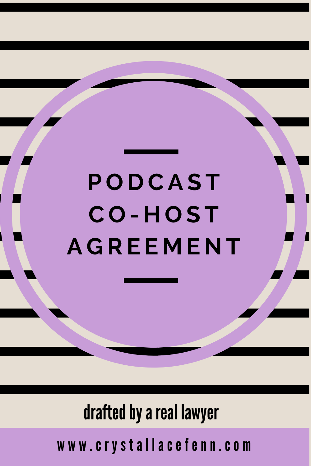If you're looking to add a co-host to your podcast then you are going to need this agreement. Invest in protecting your brand and your business with this Podcast Co-Host Agreement. Drafted by a real lawyer and easy to use, this agreement formalizes and details the terms of your co-host arrangement Don't enter into a partnership without it!