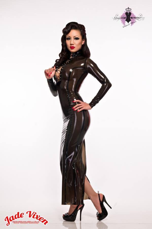 Jade Vixen: Jade Vixen Looks Glorious In Westward Bound's #Latex Lash