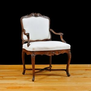 18th Century French Louis XVI Period Bergere, c.1780 SOLD