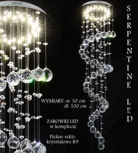 Zyrandol Krysztalowy Led Lampa Wiszaca Sufitowa Fv 3652189122 Oficjalne Archiwum Allegro Crystal Ceiling Light Crystal Ceiling Lamps Pendant Ceiling Lamp