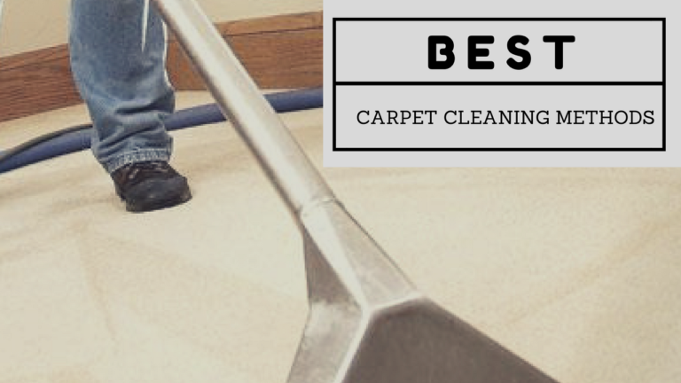 What Are The Diffe Carpet Cleaning Methods Used By Professionals