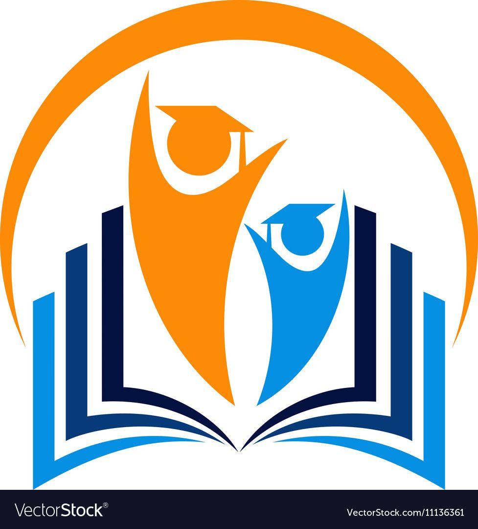 Education Logo Vector Image On Education Logo Education Logo