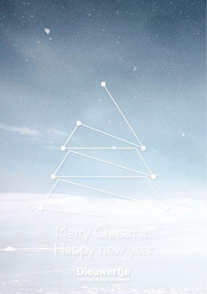 Christmascard 2016-2017 - design by Dieuwertje, dieuwertjeontwerp.nl #graphicdesign