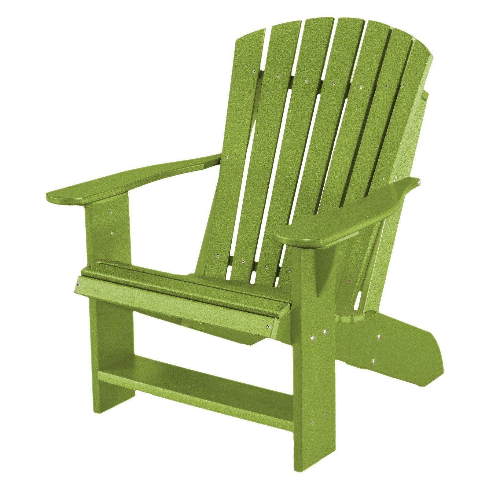Outdoor Wildridge Heritage Adirondack Chair Recycled