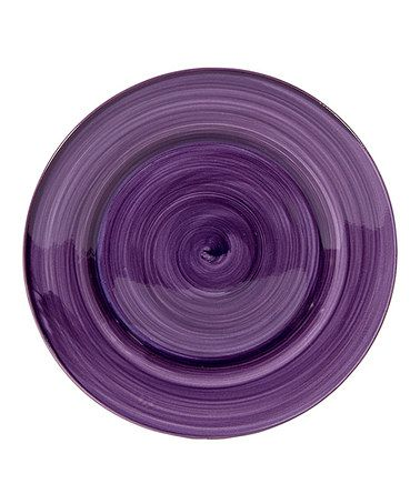 Take a look at this Purple Brush Stroke 7.5\u0027\u0027 Salad Plate - Set of  sc 1 st  Pinterest & Take a look at this Purple Brush Stroke 7.5\u0027\u0027 Salad Plate - Set of ...